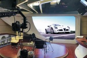 HD led screen for TV Studios