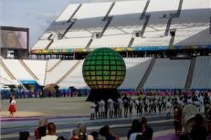 LED spheres 7 meters
